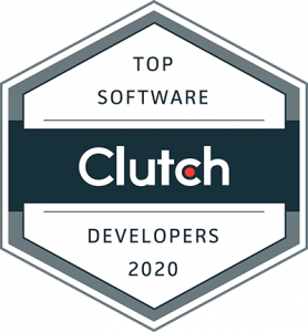 Top Software Developers of 2020 Clutch Award
